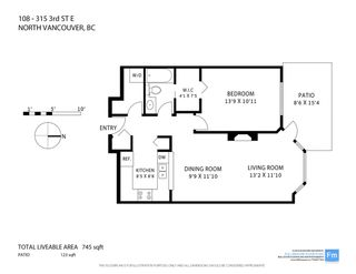 """Photo 15: 108 315 E 3RD Street in North Vancouver: Lower Lonsdale Condo for sale in """"DUNBARTON MANOR"""" : MLS®# R2083441"""