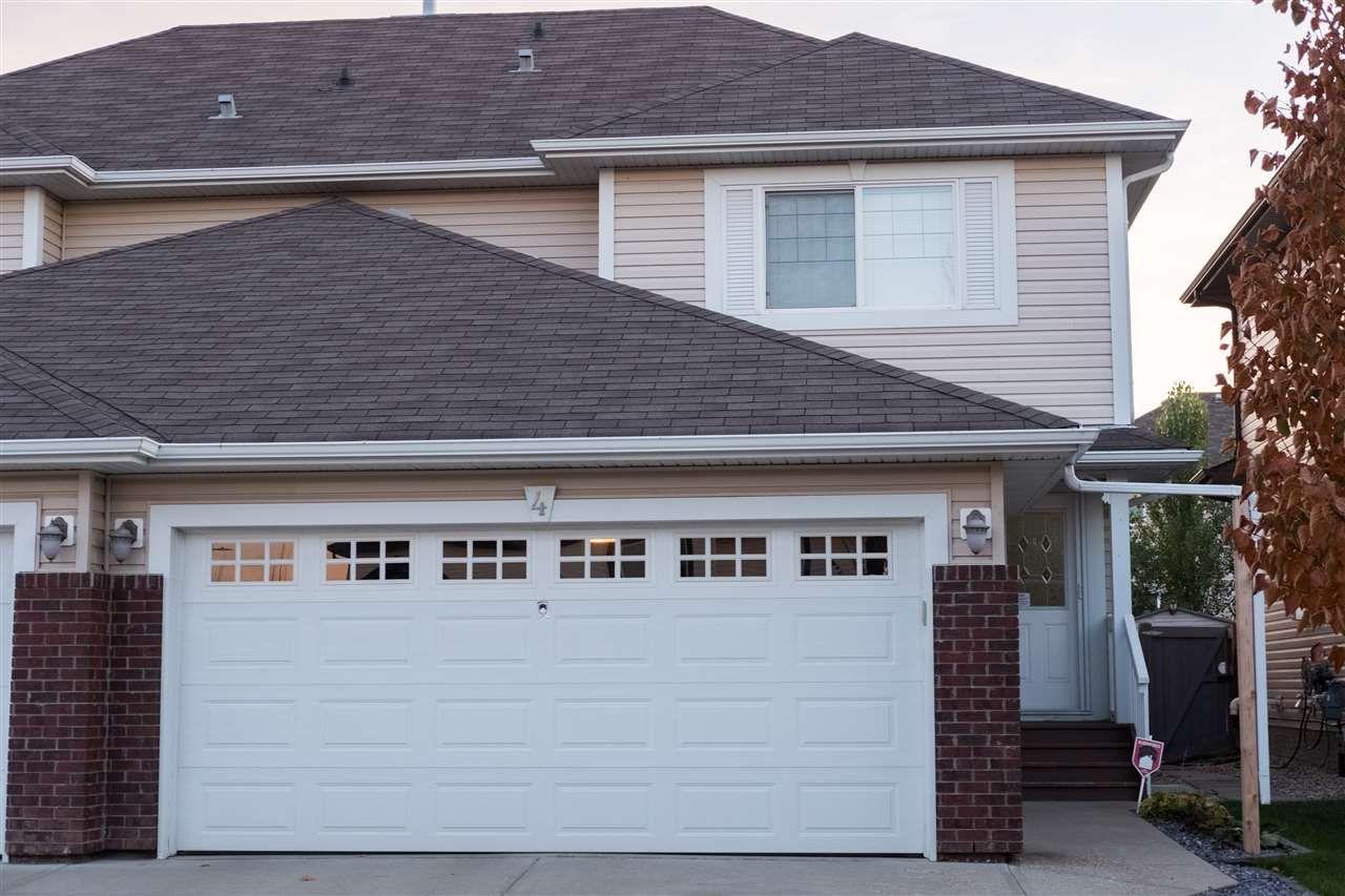 Main Photo: 4 Red Canyon Way: Fort Saskatchewan House Half Duplex for sale : MLS®# E4248901