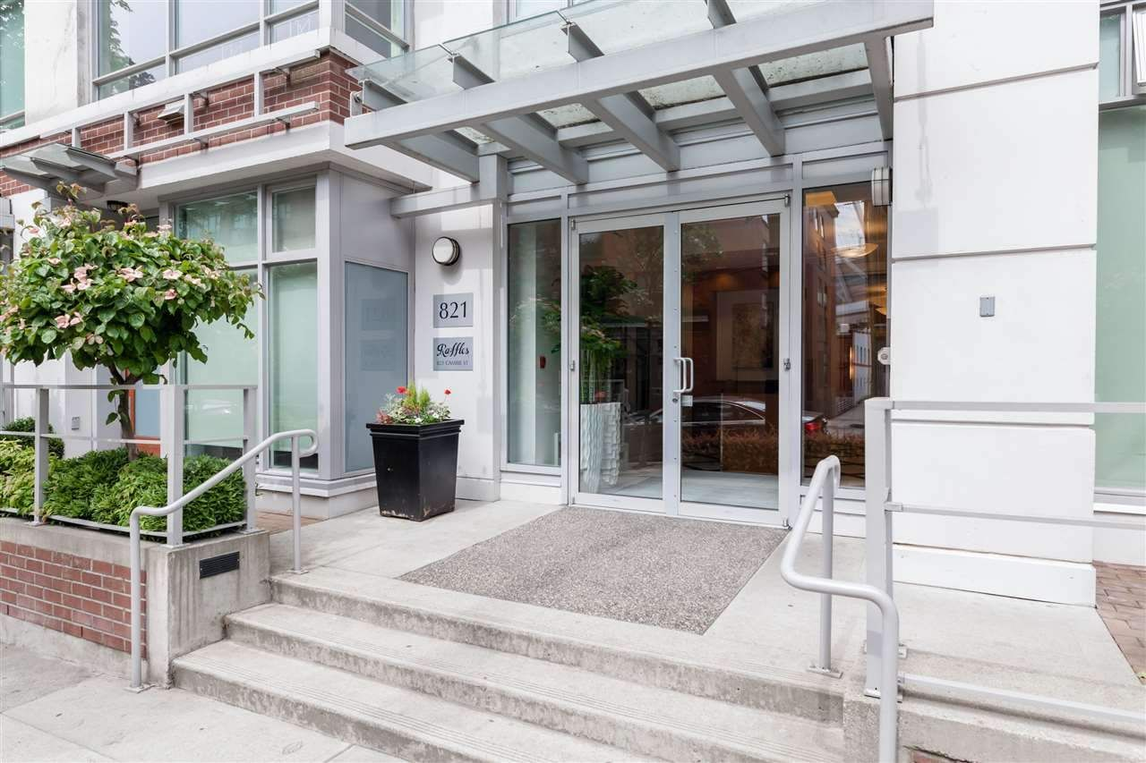 """Main Photo: 1201 821 CAMBIE Street in Vancouver: Downtown VW Condo for sale in """"Raffles"""" (Vancouver West)  : MLS®# R2445304"""