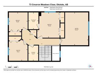 Photo 33: 73 CIMARRON MEADOWS Close: Okotoks Detached for sale : MLS®# A1032152