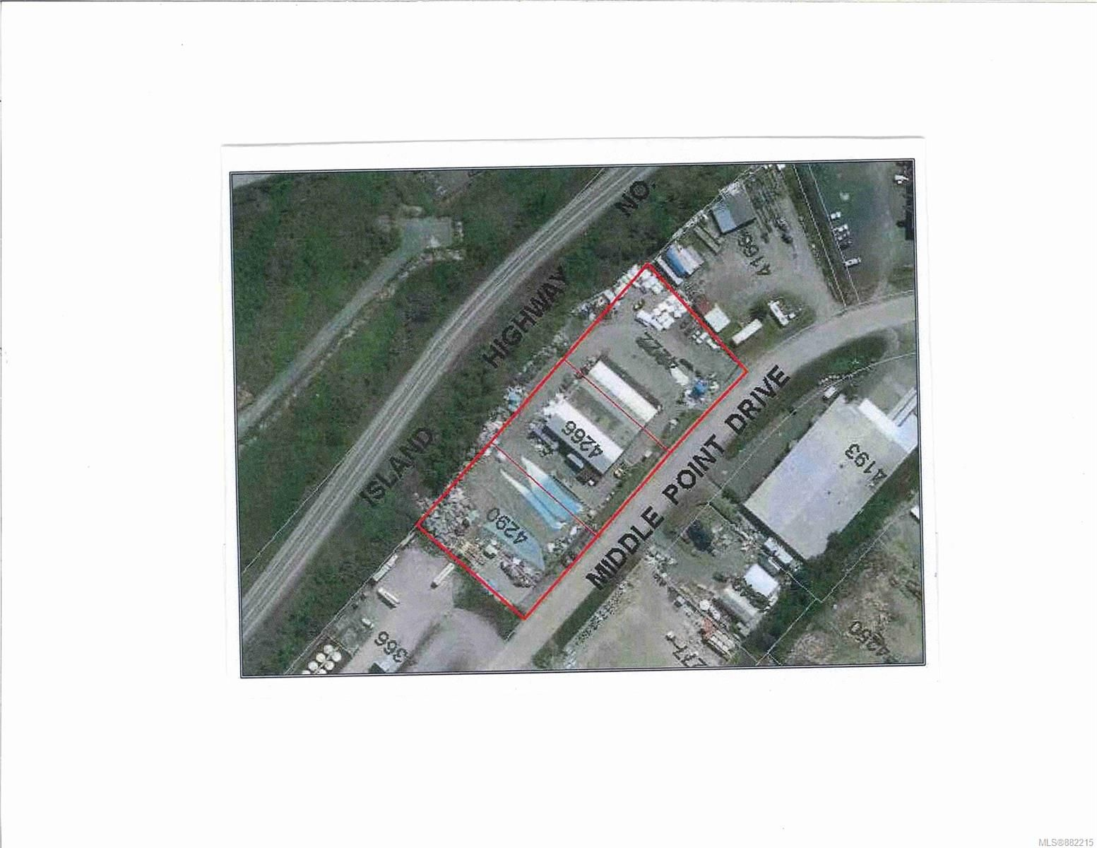 Main Photo: 4222 Middle Point Dr in : CR Campbell River North Industrial for sale (Campbell River)  : MLS®# 882215