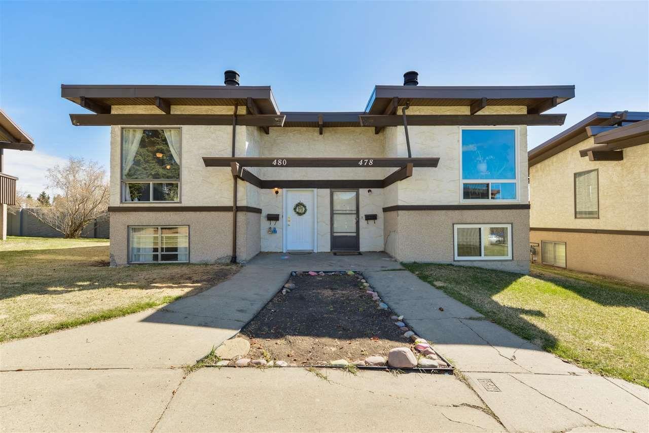 Main Photo: 480 Lee Ridge Road in Edmonton: Zone 29 Townhouse for sale : MLS®# E4242025