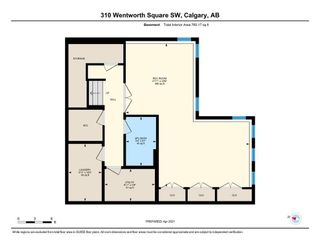 Photo 34: 310 WENTWORTH Square SW in Calgary: West Springs Semi Detached for sale : MLS®# A1100638