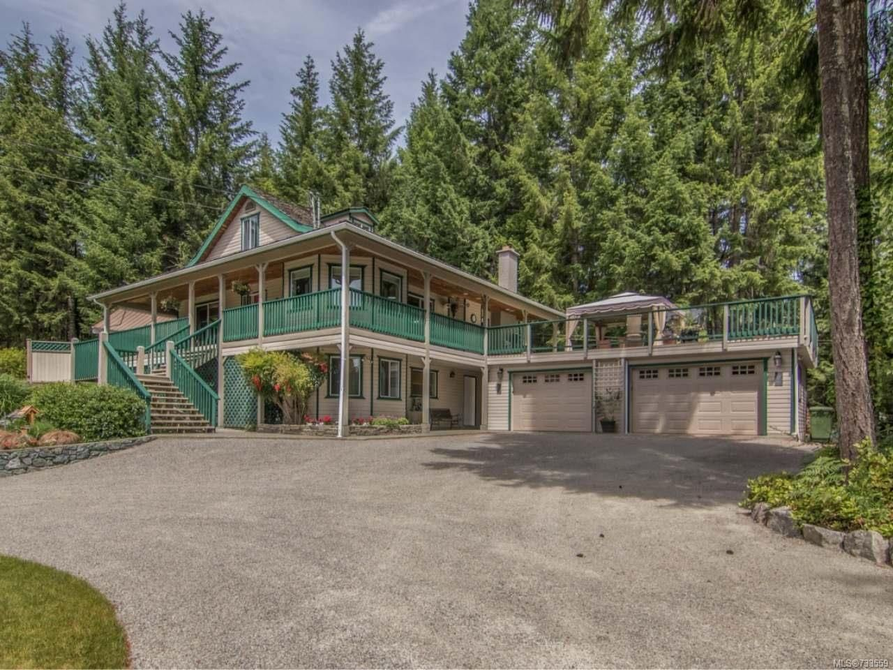 Main Photo: 2379 DAMASCUS ROAD in SHAWNIGAN LAKE: ML Shawnigan House for sale (Zone 3 - Duncan)  : MLS®# 733559
