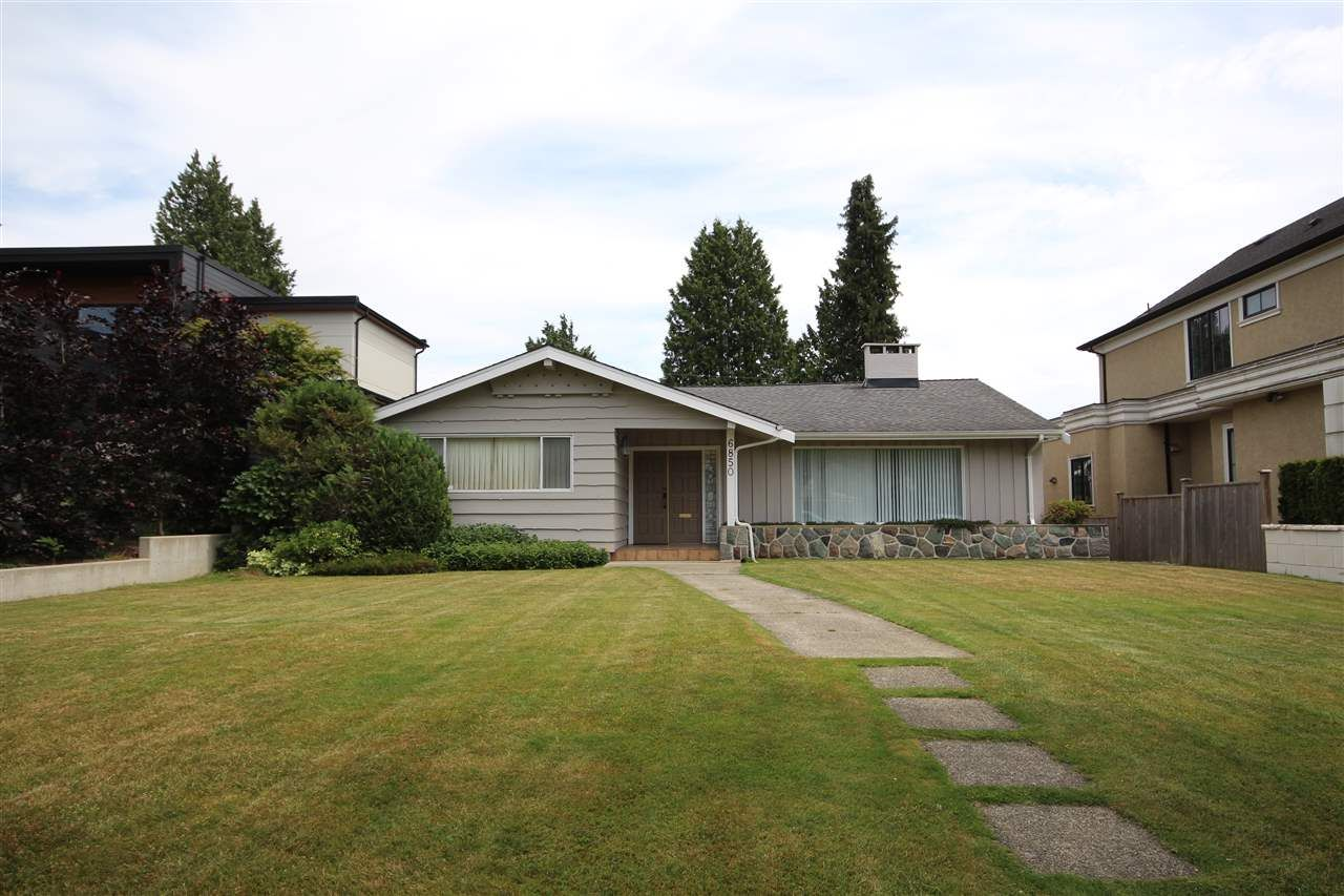 Main Photo: 6850 LAUREL STREET in Vancouver: South Cambie House for sale (Vancouver West)  : MLS®# R2379035