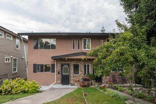 Photo 1: 2179 PITT RIVER Road in Port Coquitlam: Central Pt Coquitlam 1/2 Duplex for sale : MLS®# R2611898