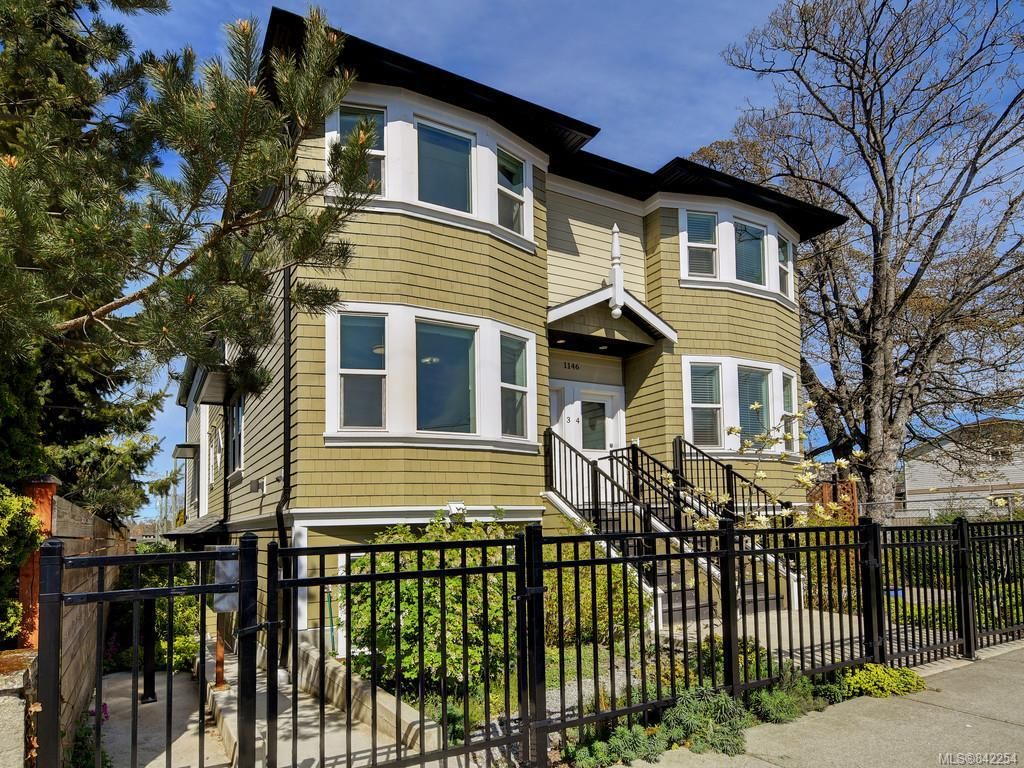 Main Photo: 3 1146 Caledonia Ave in Victoria: Vi Fernwood Row/Townhouse for sale : MLS®# 842254