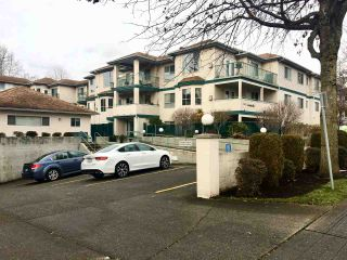 """Photo 1: 302 5955 177B Street in Surrey: Cloverdale BC Condo for sale in """"WINDSOR PLACE"""" (Cloverdale)  : MLS®# R2334510"""