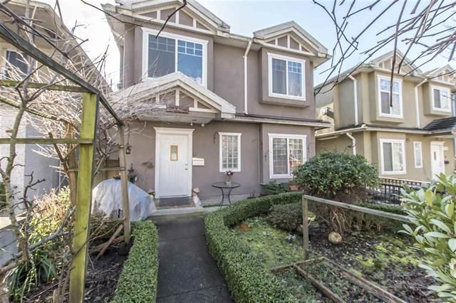 Main Photo: 538 E 16th Avenue in Vancouver: Fraser VE 1/2 Duplex for sale (Vancouver East)  : MLS®# R2547483