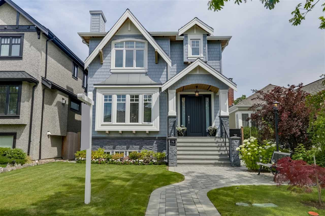 Main Photo: 79 W 23RD Avenue in Vancouver: Cambie House for sale (Vancouver West)  : MLS®# R2083094