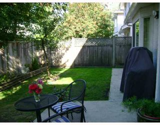 "Photo 5: 97 10000 FISHER Gate in Richmond: West Cambie Townhouse for sale in ""ALDERBRIDGE ESTATES"" : MLS®# V665281"