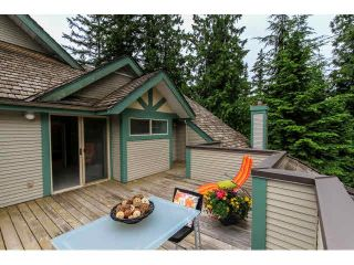 """Photo 14: 17 65 FOXWOOD Drive in Port Moody: Heritage Mountain Townhouse for sale in """"FOREST HILL"""" : MLS®# V1125839"""