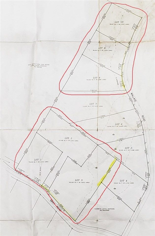 Main Photo: Wallace Road in Hazel Glen: 108-Rural Pictou County Vacant Land for sale (Northern Region)  : MLS®# 202109974