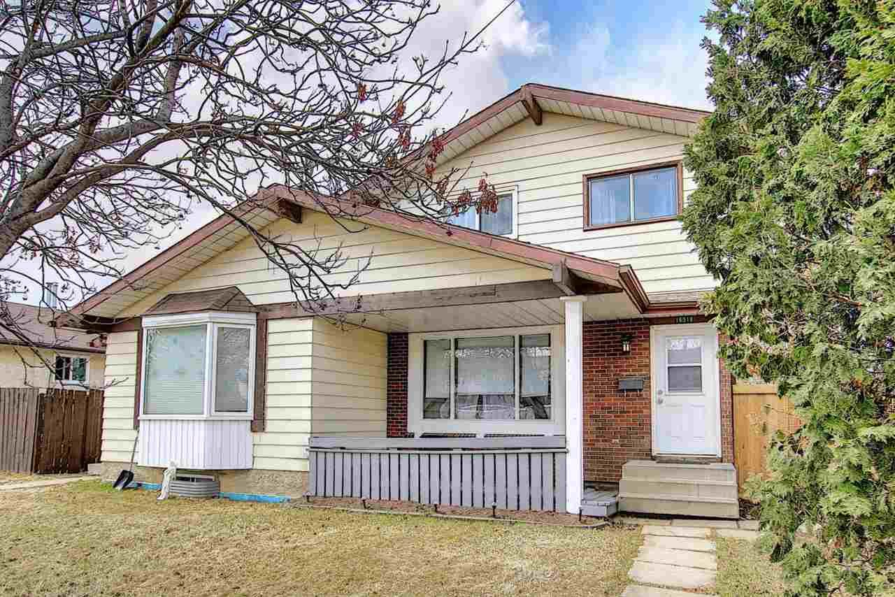 Main Photo: 16518 115 Street in Edmonton: Zone 27 House Half Duplex for sale : MLS®# E4240718