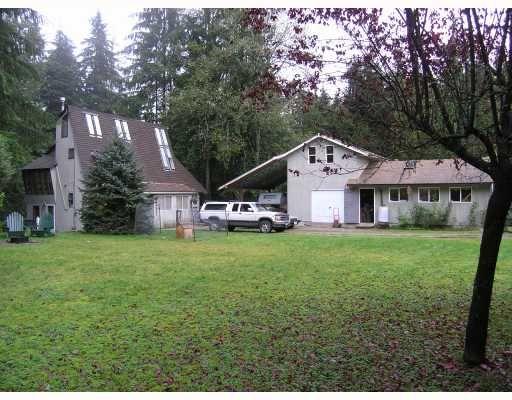 Main Photo: 11739 272ND Street in Maple_Ridge: Whonnock House for sale (Maple Ridge)  : MLS®# V648786