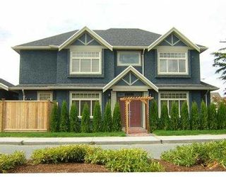 """Photo 1: 11731 FENTIMAN Place in Richmond: Steveston South House for sale in """"GARRY RD"""" : MLS®# V610934"""