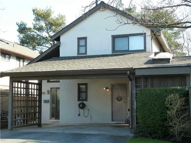 "Main Photo: 10 11291 7TH Avenue in Richmond: Steveston Villlage Townhouse for sale in ""MARINER'S VILLAGE"" : MLS®# V875183"