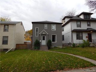 Photo 1: 66 Chestnut Street in Winnipeg: Wolseley Residential for sale (5B)  : MLS®# 1626694