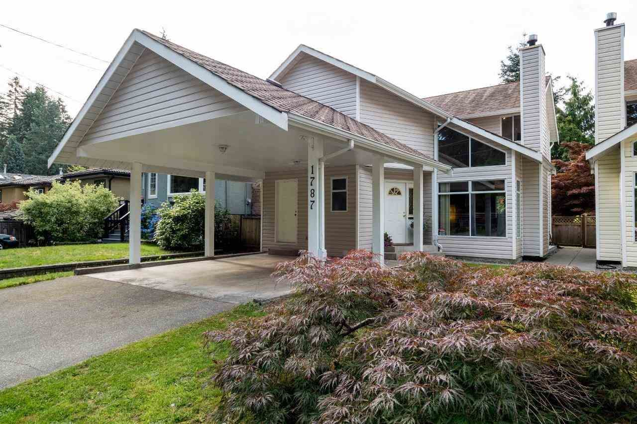 Main Photo: 1787 PETERS ROAD in North Vancouver: Lynn Valley House for sale : MLS®# R2096530