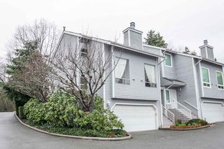 """Photo 1: 8229 VIVALDI Place in Vancouver: Champlain Heights Townhouse for sale in """"ASHLEIGH HEIGHTS"""" (Vancouver East)  : MLS®# R2331263"""
