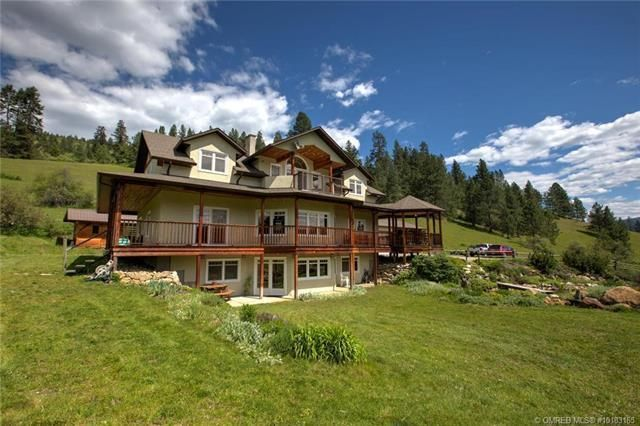 Main Photo: 49 Albers Road, in Lumby: Agriculture for sale : MLS®# 10218572