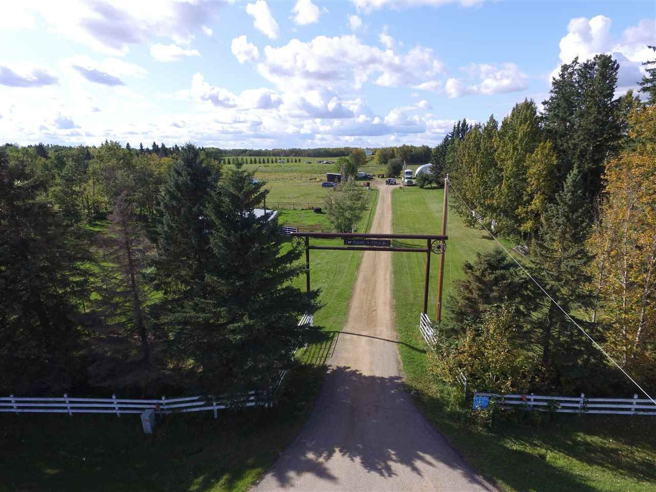 Photo 1: Photos: 472050A Hwy 814: Rural Wetaskiwin County House for sale : MLS®# E4213442