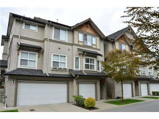 """Photo 1: 46 1055 RIVERWOOD GATE Gate in Port Coquitlam: Riverwood Townhouse for sale in """"MOUNTAINVIEW"""" : MLS®# V945381"""