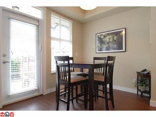 """Photo 5: 21 18199 70TH Avenue in Surrey: Cloverdale BC Townhouse for sale in """"AUGUSTA"""" (Cloverdale)  : MLS®# F1105716"""
