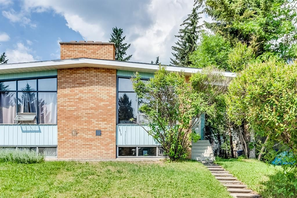 Main Photo: 11217 11 Street SW in Calgary: Southwood Semi Detached for sale : MLS®# A1126486