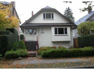 Photo 1: 1081 CYPRESS Street in Vancouver: Kitsilano House for sale (Vancouver West)  : MLS®# V919284
