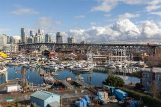 """Photo 1: 412 1490 PENNYFARTHING Drive in Vancouver: False Creek Condo for sale in """"Harbour Cove/False Creek"""" (Vancouver West)  : MLS®# R2541410"""