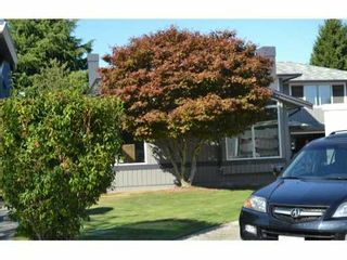"""Photo 1: 5891 PUFFIN Court in Richmond: Westwind House for sale in """"WESTWIND"""" : MLS®# V909218"""