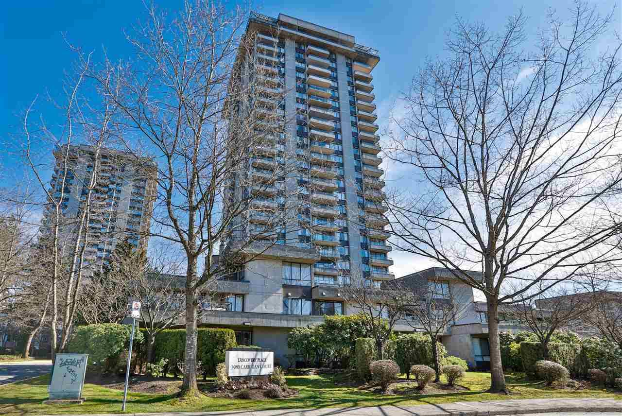 """Photo 2: Photos: 1804 3980 CARRIGAN Court in Burnaby: Government Road Condo for sale in """"Discovery Place"""" (Burnaby North)  : MLS®# R2465942"""
