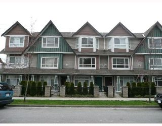 Photo 1: 7 8080 BENNETT Road in Richmond: Brighouse South Townhouse for sale : MLS®# V710687