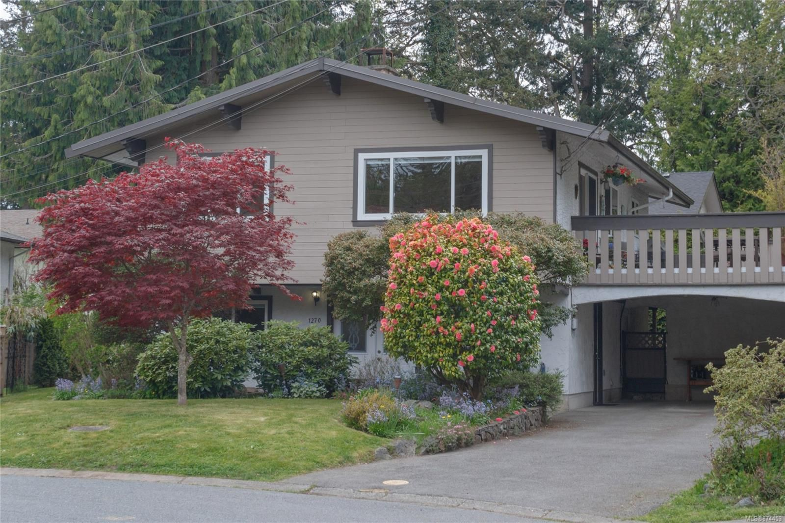 Main Photo: 1270 Persimmon Close in : SE Cedar Hill House for sale (Saanich East)  : MLS®# 874453