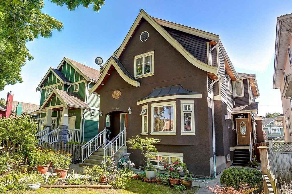 Main Photo: 2018 E BROADWAY in Vancouver: Grandview VE 1/2 Duplex for sale (Vancouver East)  : MLS®# R2095432