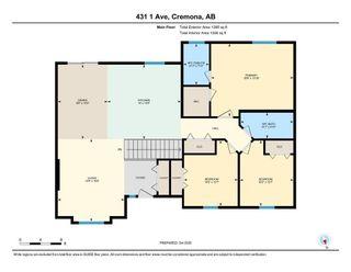 Photo 32: 413 1 Avenue E: Cremona Detached for sale : MLS®# A1038124
