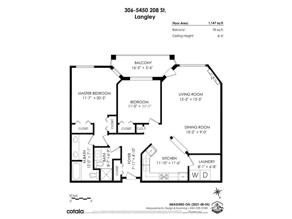 """Photo 26: Photos: 306 5450 208 Street in Langley: Langley City Condo for sale in """"Montgomery Gate"""" : MLS®# R2608181"""
