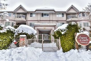 """Photo 1: 106 9865 140 Street in Surrey: Whalley Condo for sale in """"Fraser Court"""" (North Surrey)  : MLS®# R2137812"""