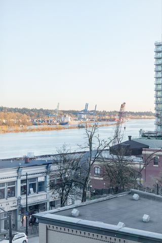 """Photo 12: 406 549 COLUMBIA Street in New Westminster: Downtown NW Condo for sale in """"C2C Lofts"""" : MLS®# R2568898"""