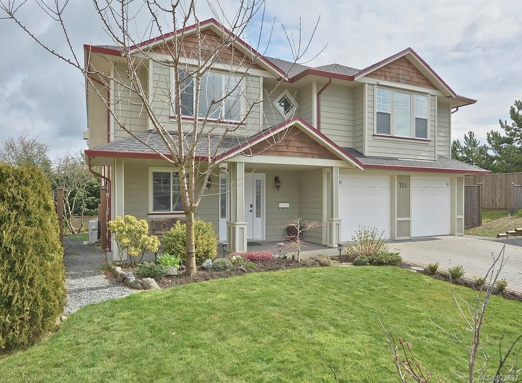 Main Photo: 724 Lavender Ave in : SW Marigold House for sale (Saanich West)  : MLS®# 878697