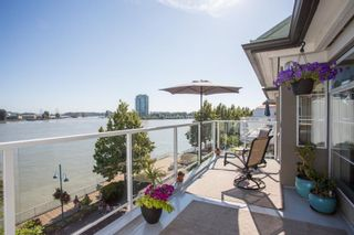 "Photo 1: 403 12 K DE K Court in New Westminster: Quay Condo for sale in ""DOCKSIDE"" : MLS®# R2624825"