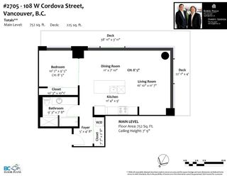 "Photo 36: 2705 108 W CORDOVA Street in Vancouver: Downtown VW Condo for sale in ""Woodward's"" (Vancouver West)  : MLS®# R2561139"