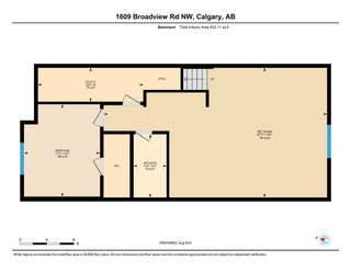 Photo 33: 1609 Broadview Road NW in Calgary: Hillhurst Semi Detached for sale : MLS®# A1136229