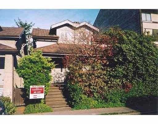 Main Photo: 2050 - 2054 ALMA ST in Vancouver: Kitsilano Triplex for sale (Vancouver West)  : MLS®# V563535