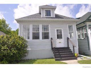 Photo 1: 870 Valour Road in WINNIPEG: West End / Wolseley Residential for sale (West Winnipeg)  : MLS®# 1519550