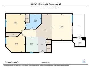 Photo 45: 104 9503 101 Avenue in Edmonton: Zone 13 Condo for sale : MLS®# E4241201