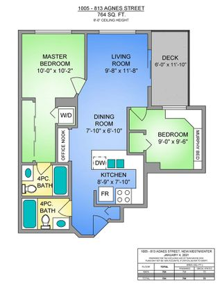 """Photo 30: 1005 813 AGNES Street in New Westminster: Downtown NW Condo for sale in """"NEWS"""" : MLS®# R2526591"""
