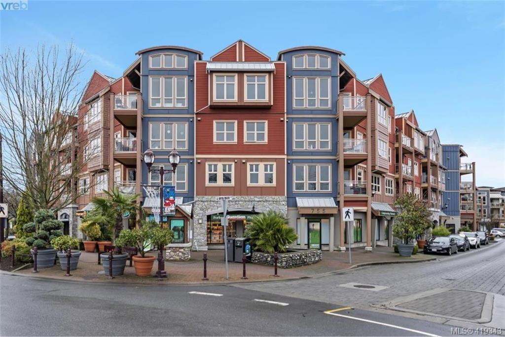 Main Photo: 308 755 Goldstream Ave in VICTORIA: La Langford Proper Condo for sale (Langford)  : MLS®# 829932
