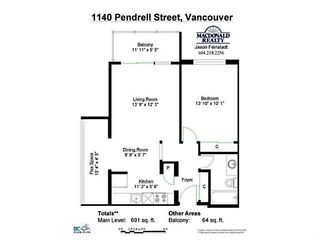 """Photo 12: 403 1140 PENDRELL Street in Vancouver: West End VW Condo for sale in """"The Somerset"""" (Vancouver West)  : MLS®# V1089764"""